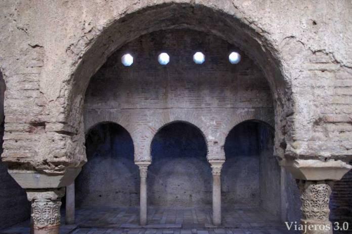baños árabes el Bañuelo , que ver y que hacer en Granada