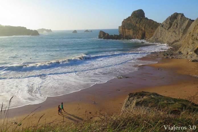playa de Portio, escapada en Cantabria de fin de semana