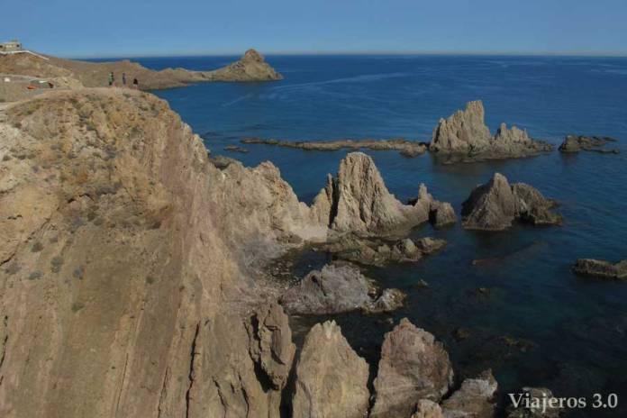 Arrecife de las Sirenas, las mejores playas de Cabo de Gata