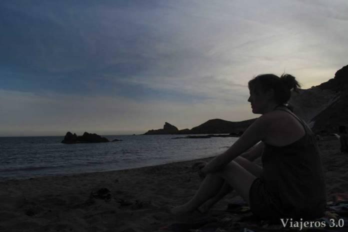 Atardecer en Cala Rajá, las mejores playas de Cabo de Gata