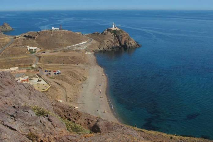 Faro de Cabo de Gata, las mejores playas de Cabo de Gata