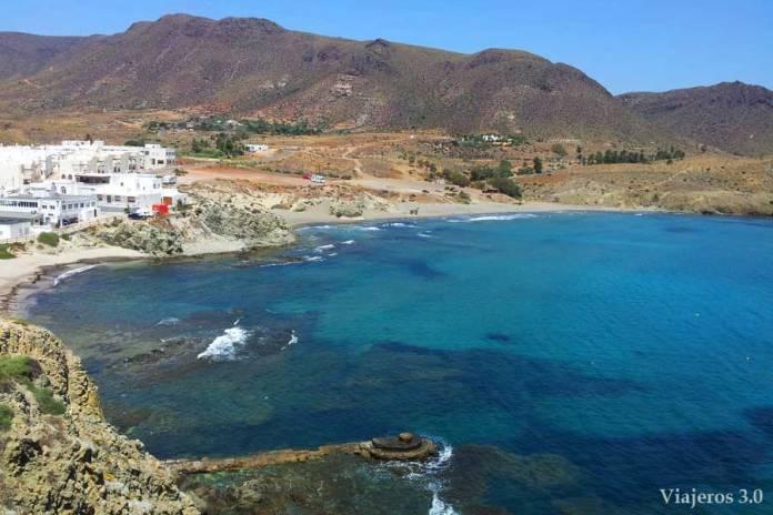 Isleta del Moro en Cabo de Gata, Almería