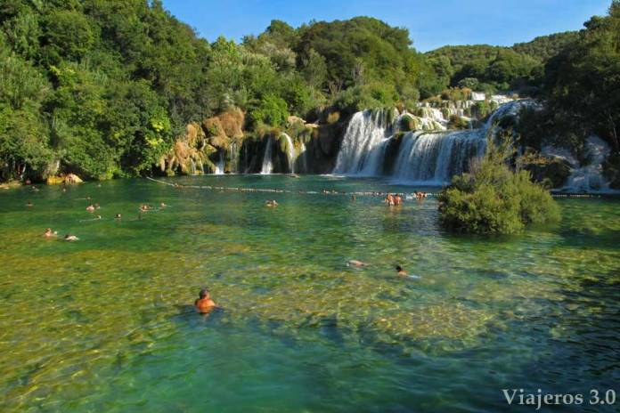 ruta por Croacia Parque Nacional de Krka