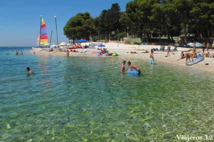 playas de Primosten en Croacia
