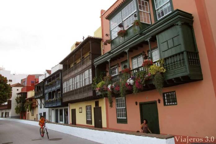 Casas coloniales en Santa Cruz de la Palma