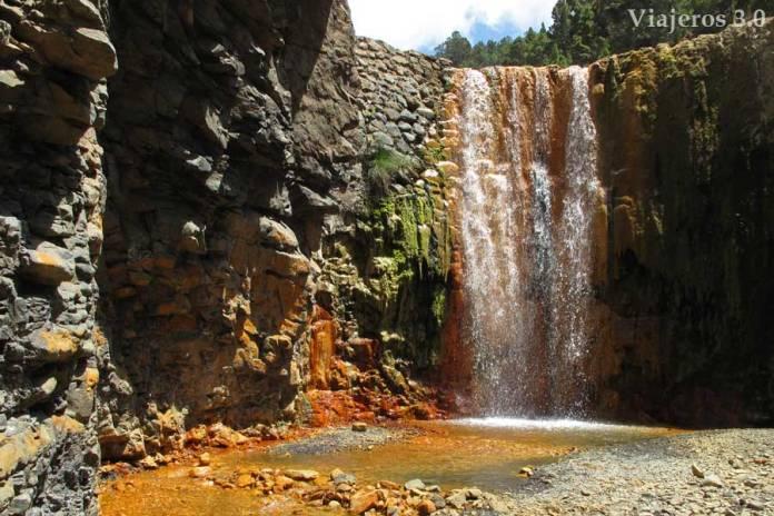 Cascada de Colores, imprescindibles que ver en La Palma