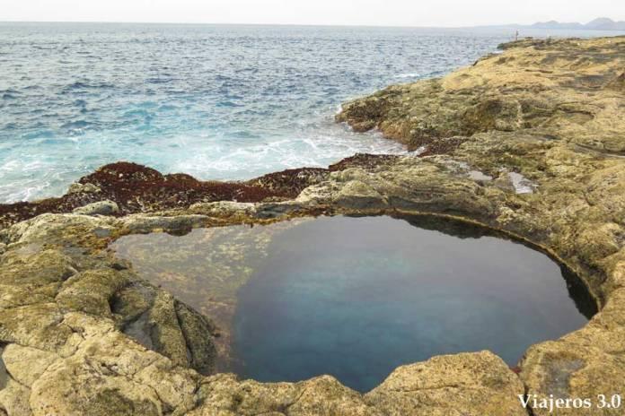 piscinas naturales los Charcones de Lanzarote