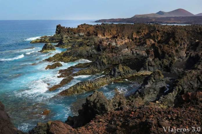 Que hacer y que ver en Lanzarote, los Hervideros