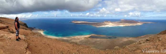 Que hacer y que ver en Lanzarote, el mirador del Río.