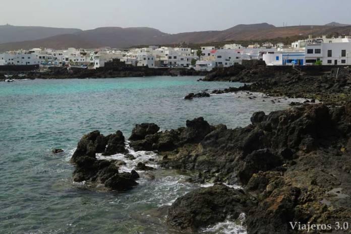 costa de Punta Mujeres en Lanzarote