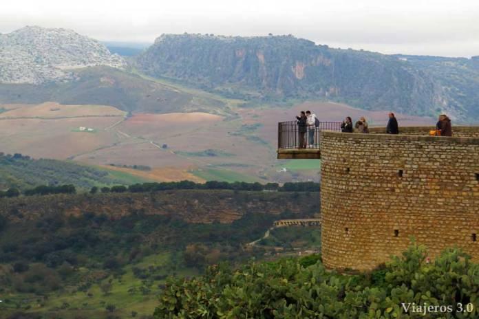 mirador parque de la Alameda en Ronda