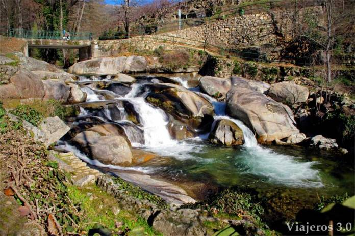 piscinas naturales de Garganta Mayor en Garganta la Olla