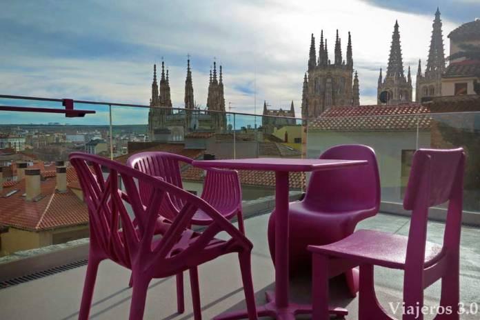 terrza de diseño en el CAB, Que ver y que hacer en Burgos en un fin de semana