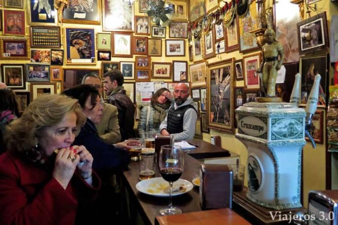tapas en Sevilla, bar la Fresquita. Navidad en Sevilla.