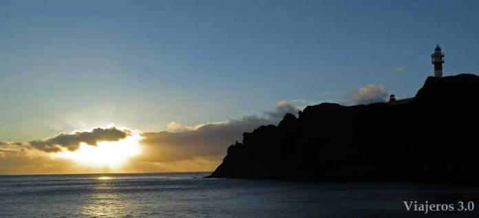atardecer en Punta del Teno, qué ver en Tenerife