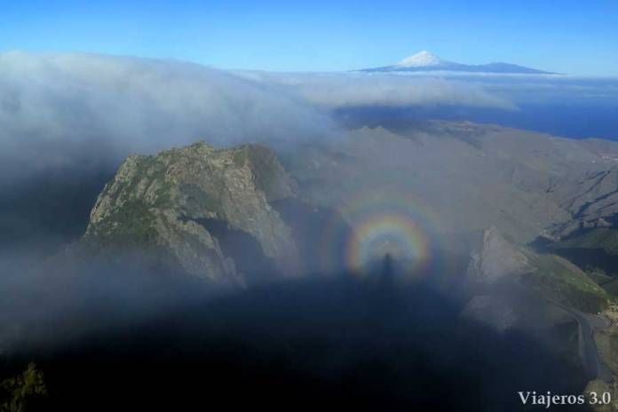 Mirador Morro de Agando, en ruta por Garajonay