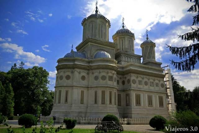 Monasterio de Curtea de Arges, en Rumanía