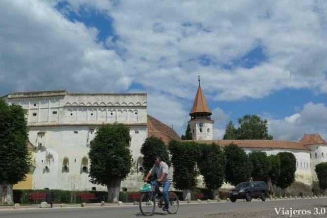 Iglesia fortificada de Prejmer en Transilvania