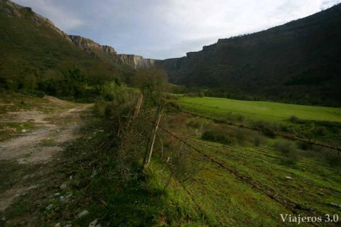 cañón de Delika, senderismo al Salto del Nervión