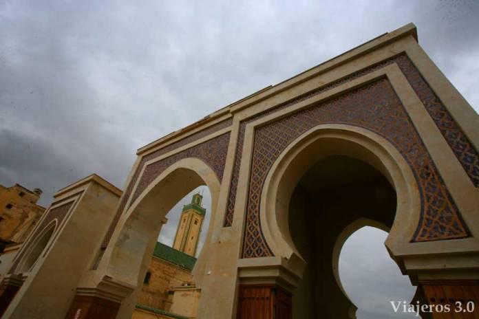 Visitar Fez: puerta Bab Rcif