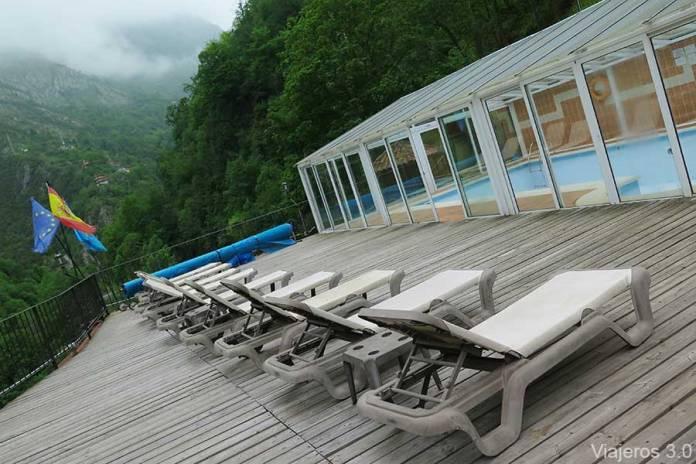 piscina de Hotel Puente Vidosa