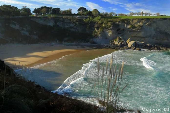 playa de Mataleñas, un paseo por Santander