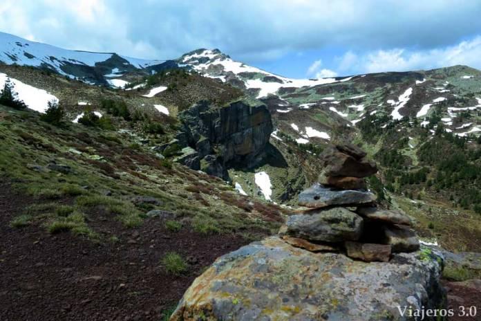 Senderismo en la Laguna Negra, subida al pico Urbión