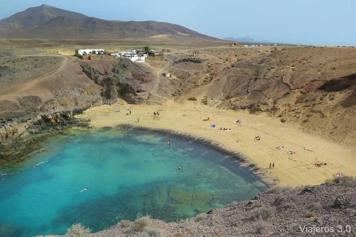playa Papagayo, las mejores playas de Lanzarote