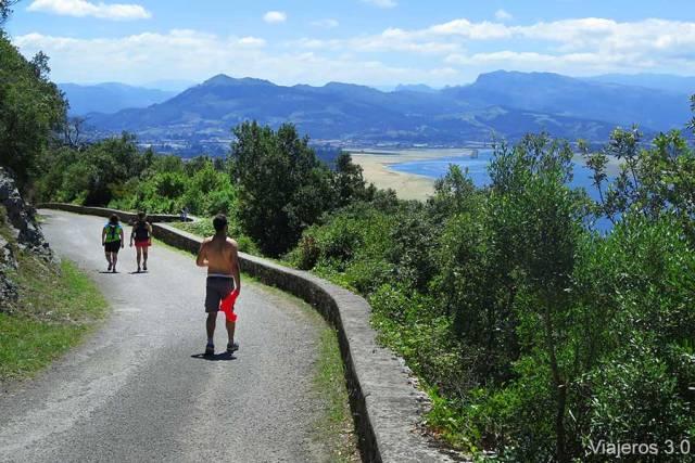 ruta de senderismo Monte Buciero