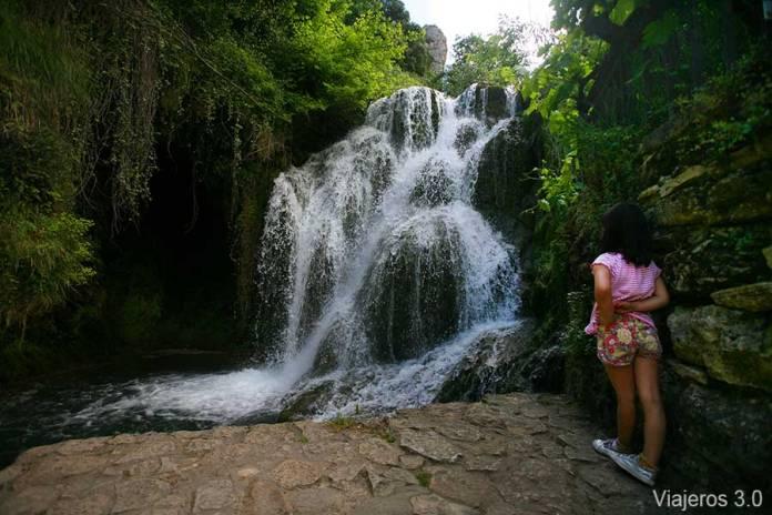 cascadas de Tobera en Burgos