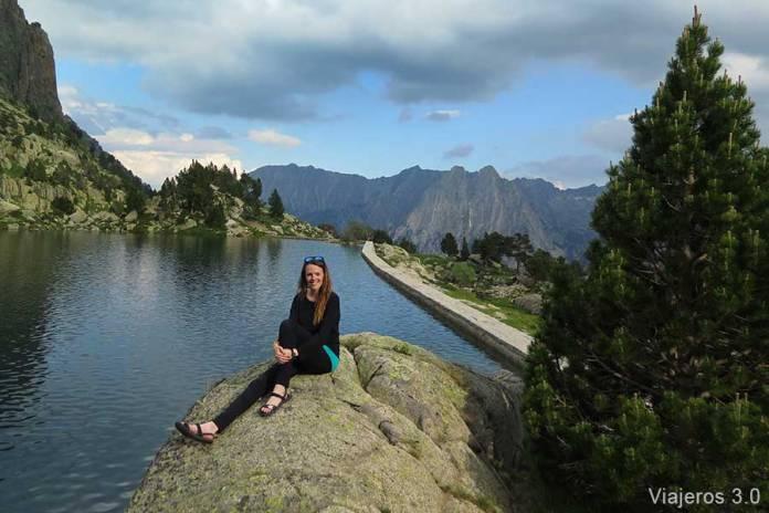 Rebeca de Viajeros 3.0, una semana en el Pirineo catalán