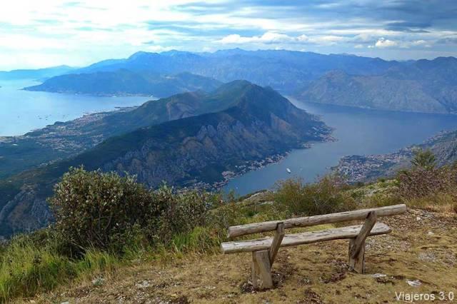 viajar a Montenegro: la bahía de Kotor