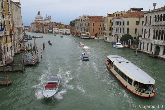 Gran Canal, cómo ir desde el aeropuerto al centro de Venecia