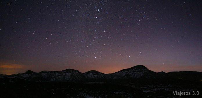 observación de estrellas en el Teide