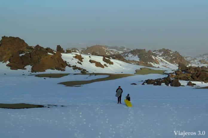 nevada en el Teide, qué ver en el Teide