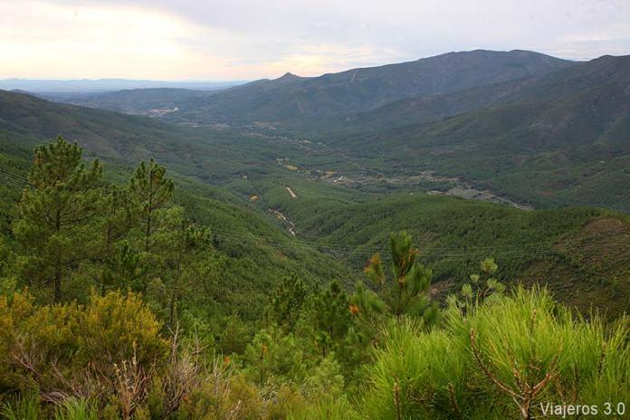 Paisajes de la Sierra de Gata