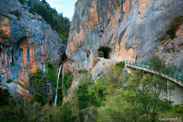 cascada de Tartalés de los Montes, cascadas de Burgos