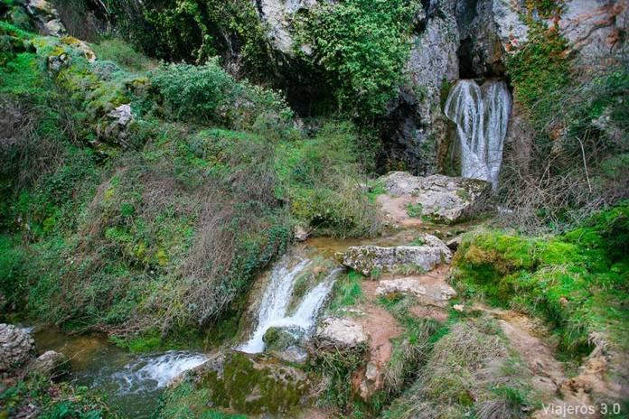cascada del Churrión, cascadas de Burgos