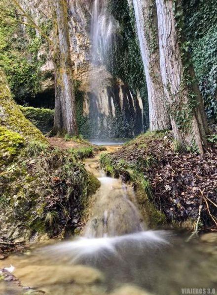 La Coladera, cascadas de Burgos