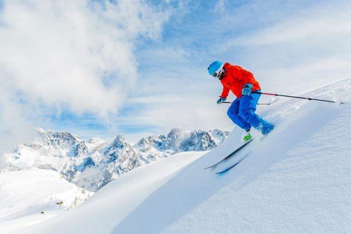 viajar en invierno, ski