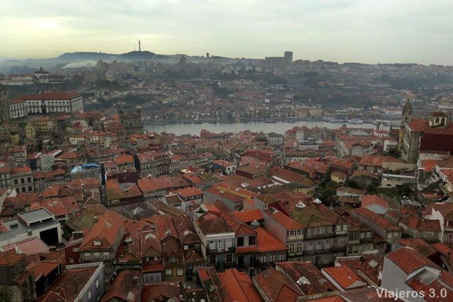 vistas de Oporto desde la Torre de los Clérigos