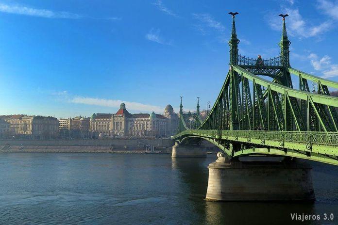 Que hacer y que ver en Budapest, puente de la Libertad