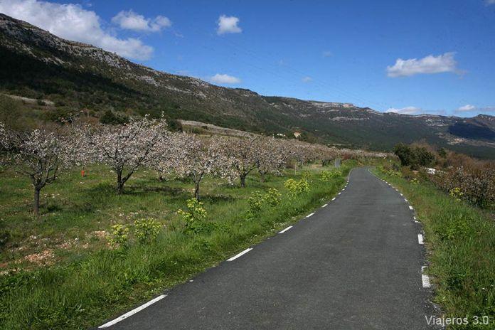 carreteras en Valle de Caderechas