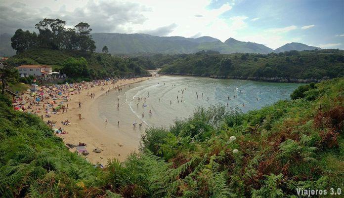 Playa de Poo, las mejores playas y pueblos de Asturias