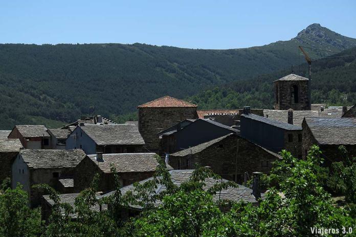 Vista general de Valverde de los Arroyos