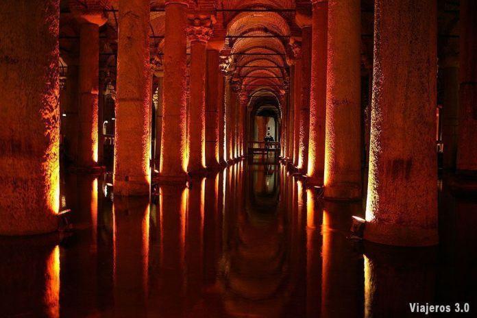 Cisterna Basílica, visitar Estambul