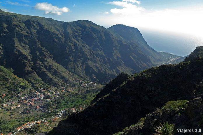 mirador de Palmarejo, los mejores miradores de La Gomera