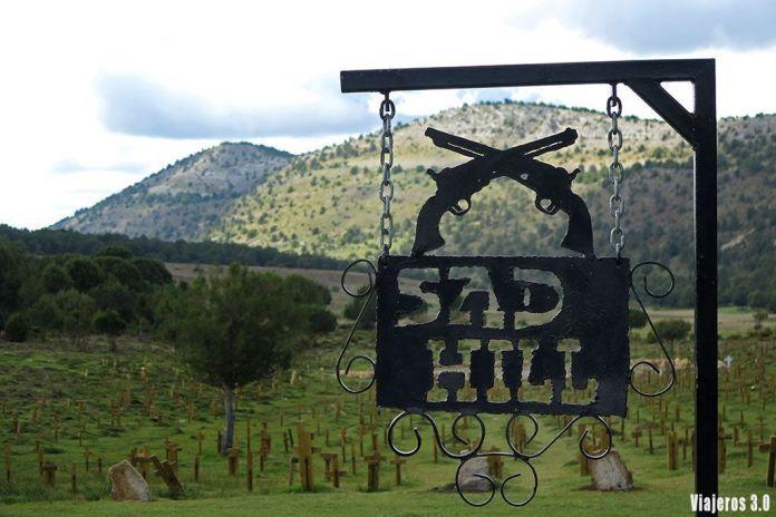 Cementerio de Sad Hill en la Comarca del Arlanza
