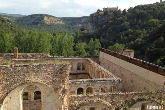 Ruinas del Monasterio de San Pedro de Arlanza en Burgos