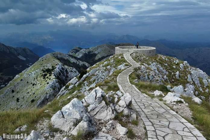 mirador Lovcen, guía de Montenegro